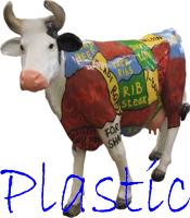 Фигуры из пластика