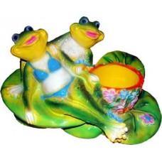 Лягушки на отдыхе - Кашпо